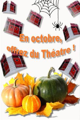 Offrez la carte-cadeau du Théâtre de l'Entresort