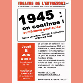 1945, ON CONTINUE !