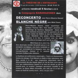 DECONCERTO et BLANCHE NEGRE (spectacle invité)