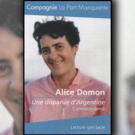 ALICE DOMON, UNE DISPARUE D'ARGENTINE